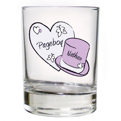 Personalised Butterfly Hats Juice Glass